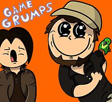 Game Grumps Cheeky Jon by TechnoKhajiit