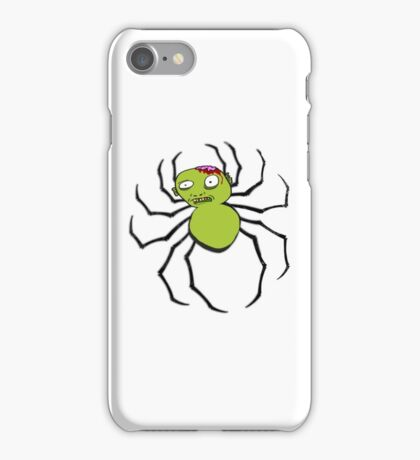 spider zombie iPhone Case/Skin