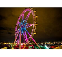 Star wheel Photographic Print