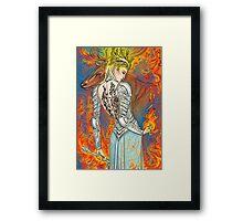 Fireheart Framed Print