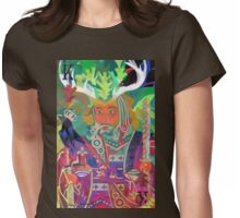 The King of Oaks Womens Fitted T-Shirt