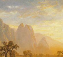 Albert Bierstadt - Valley of the Yosemite (1864)  Sticker