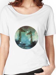 Giraffes Above Night Clouds Women's Relaxed Fit T-Shirt