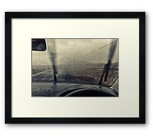 You wouldn't put your mother in law out there Framed Print