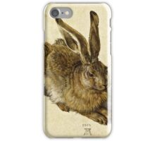 Albrecht Durer - Hare (1502)  iPhone Case/Skin