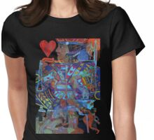Jack of Lonely Hearts Womens Fitted T-Shirt