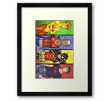 Young Justice Boys Framed Print
