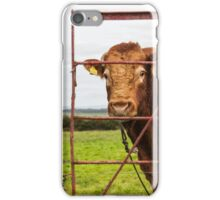 He has a bulls notion iPhone Case/Skin