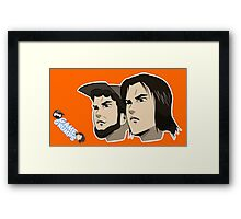 Game grumps Anime Heads Framed Print