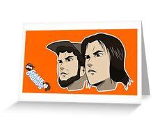 Game grumps Anime Heads Greeting Card