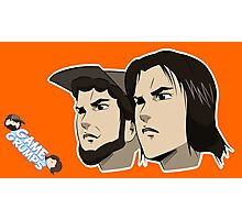 Game grumps Anime Heads Photographic Print