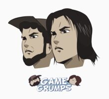 Game grumps Anime Heads One Piece - Short Sleeve