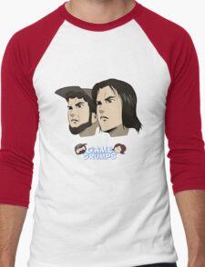 Game grumps Anime Heads Men's Baseball ¾ T-Shirt