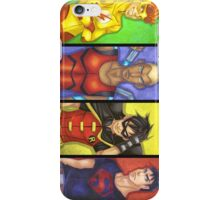 Young Justice Boys iPhone Case/Skin