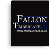 Fallon timberlake Canvas Print