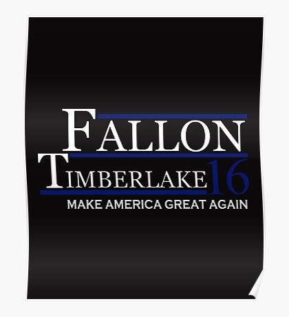 Fallon timberlake Poster
