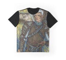 Hawk warrior Graphic T-Shirt
