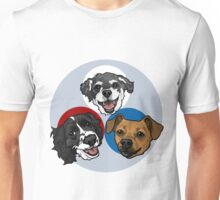 Loki, Rosie, and Odin Unisex T-Shirt