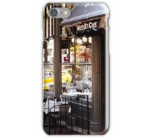 Water Street Cafe iPhone Case/Skin