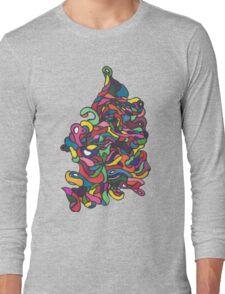 Brain Waves Long Sleeve T-Shirt