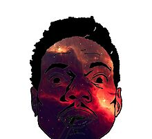 Chance The Rapper Galaxy Face by coolGEORGE