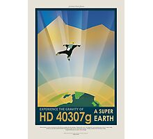 Experience the Gravity of HD40307g - a Super Earth Photographic Print