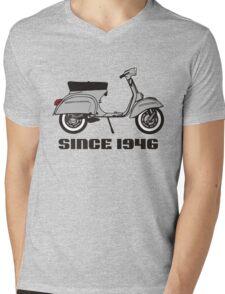mod mods vespa motor bike retro vintage punk rock pop Mens V-Neck T-Shirt