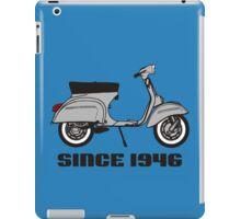 mod mods vespa motor bike retro vintage punk rock pop iPad Case/Skin