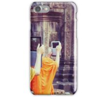 Modern day monks iPhone Case/Skin