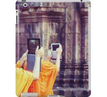 Modern day monks iPad Case/Skin
