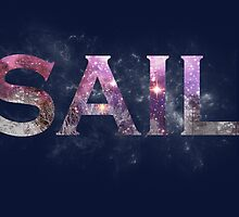 Galaxy Sail by shambly