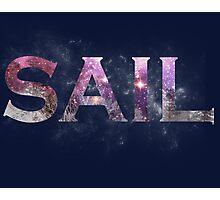 Galaxy Sail Photographic Print