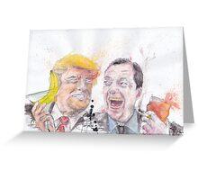 Bromance: Trump & Farage Greeting Card