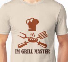 #10 IM GRILL MASTER (Brown) Unisex T-Shirt