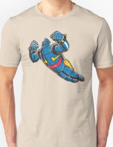 Gigantor the space age robot - grungy T-Shirt