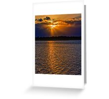 Those Sunsets in the Keys Greeting Card