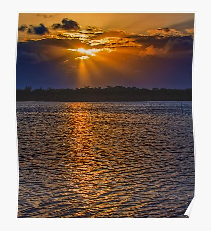 Those Sunsets in the Keys Poster