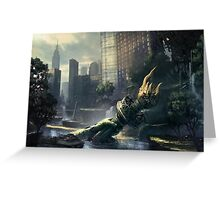 Crysis - New York Landscape Greeting Card