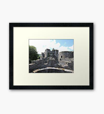 Beaumaris Turrets Framed Print