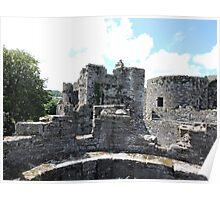 Beaumaris Turrets Poster