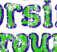 Horsin' Around Vintage T-shirt  Sticker