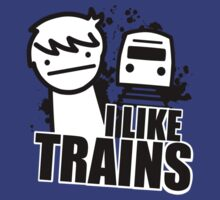 I like trains  by oPac