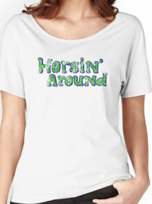 Horsin' Around Vintage T-shirt  Women's Relaxed Fit T-Shirt