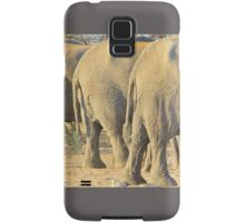 Elephant Diet Clinic - Funny African Wildlife Samsung Galaxy Case/Skin