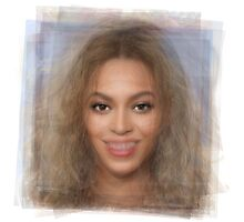 Beyonce Portrait Photographic Print