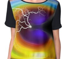 Abstract Digital Artwork #2BB Chiffon Top