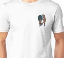 Lace Up! Blue Unisex T-Shirt