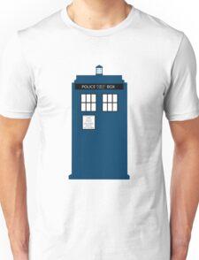 Simple TARDIS Unisex T-Shirt