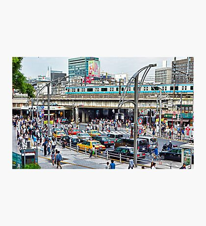 Tokyo Streets Normality  Photographic Print