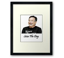 Seize the Day Framed Print
